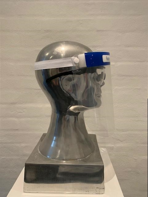 Visiera policarbonato face shield